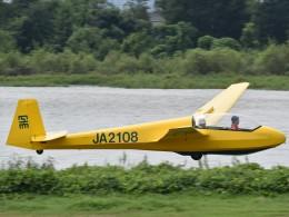 とびたさんが、大野滑空場で撮影した日本個人所有 ASK 13の航空フォト(飛行機 写真・画像)