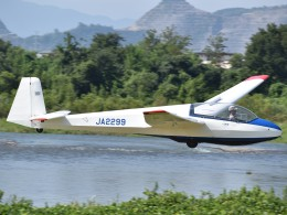 とびたさんが、大野滑空場で撮影した日本個人所有 ASK 13 Jubiの航空フォト(飛行機 写真・画像)