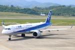 Kuuさんが、高松空港で撮影した全日空 A321-272Nの航空フォト(飛行機 写真・画像)