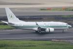 安芸あすかさんが、羽田空港で撮影したナイジェリア政府 737-7N6 BBJの航空フォト(写真)