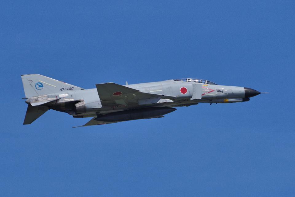 yabyanさんの航空自衛隊 Mitsubishi F-4EJ Phantom II (47-8327) 航空フォト