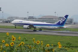 神宮寺ももさんが、高松空港で撮影した全日空 767-381/ERの航空フォト(飛行機 写真・画像)