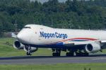 こうきさんが、成田国際空港で撮影した日本貨物航空 747-8KZF/SCDの航空フォト(写真)