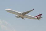 OMAさんが、香港国際空港で撮影したキャセイドラゴン A330-342の航空フォト(飛行機 写真・画像)