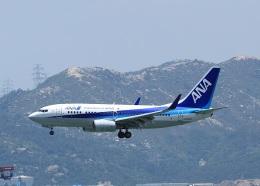 garrettさんが、香港国際空港で撮影した全日空 737-781の航空フォト(飛行機 写真・画像)