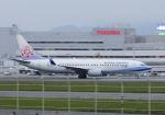 mocohide☆さんが、福岡空港で撮影したチャイナエアライン 737-8ALの航空フォト(写真)