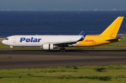 きんめいさんが、中部国際空港で撮影したポーラーエアカーゴ 767-3JHF(ER)の航空フォト(飛行機 写真・画像)