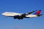 kaeru6006さんが、成田国際空港で撮影したデルタ航空 747-451の航空フォト(写真)