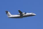 F-4さんが、横田基地で撮影したアメリカ企業所有 DHC-8-315B Dash 8の航空フォト(飛行機 写真・画像)