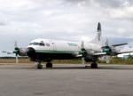 voyagerさんが、イエローナイフ空港で撮影したBuffaio Airways L-188 Electraの航空フォト(写真)