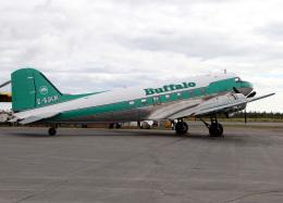 voyagerさんが、イエローナイフ空港で撮影したバッファロー・エアウェイズ DC-3Cの航空フォト(飛行機 写真・画像)