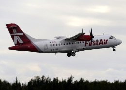 voyagerさんが、イエローナイフ空港で撮影したファースト・エア ATR 42-500の航空フォト(飛行機 写真・画像)