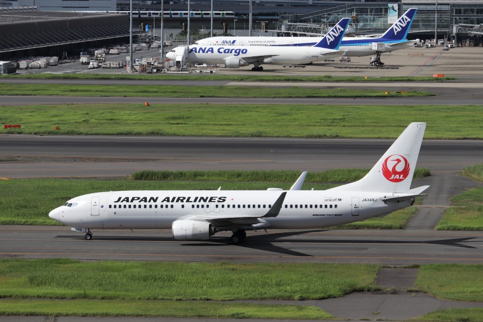 KAZFLYERさんの日本航空 Boeing 737-800 (JA349J) 航空フォト