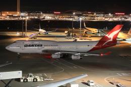 みるぽんたさんが、羽田空港で撮影したカンタス航空 747-438の航空フォト(飛行機 写真・画像)