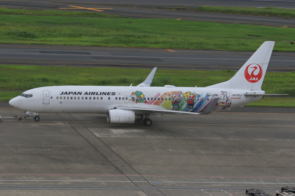 みるぽんたさんの日本航空 Boeing 737-800 (JA330J) 航空フォト