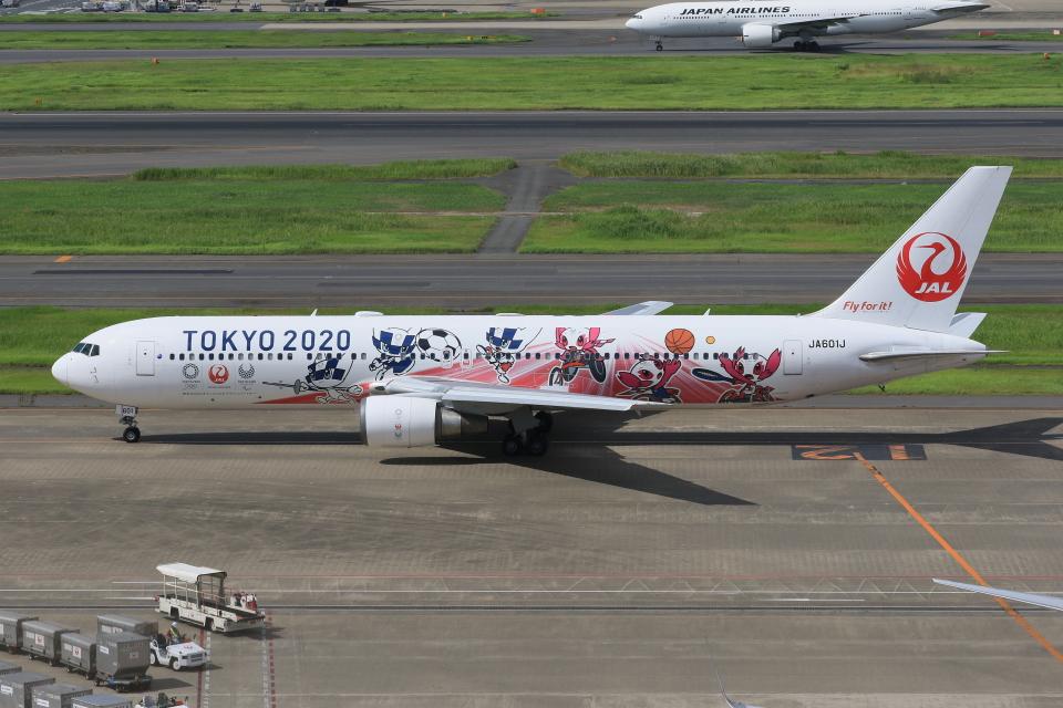 みるぽんたさんの日本航空 Boeing 767-300 (JA601J) 航空フォト