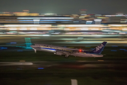 wtb11_ksさんが、羽田空港で撮影した全日空 767-381/ERの航空フォト(飛行機 写真・画像)