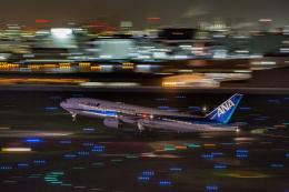 wtb11_ksさんが、羽田空港で撮影した全日空 777-281/ERの航空フォト(飛行機 写真・画像)