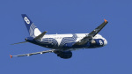 パンダさんが、成田国際空港で撮影したオーロラ A319-112の航空フォト(飛行機 写真・画像)