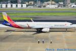 れんしさんが、福岡空港で撮影したアシアナ航空 A321-231の航空フォト(写真)