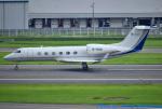 れんしさんが、福岡空港で撮影した德展金投集团有限公司 G-IV-X Gulfstream G450の航空フォト(写真)