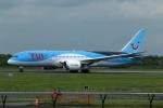 採れたてほしいもさんが、マンチェスター空港で撮影したトゥイ・エアウェイズ 787-8 Dreamlinerの航空フォト(写真)