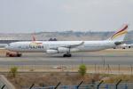 IL-18さんが、マドリード・バラハス国際空港で撮影したプルス・ウルトラ A340-313Xの航空フォト(飛行機 写真・画像)