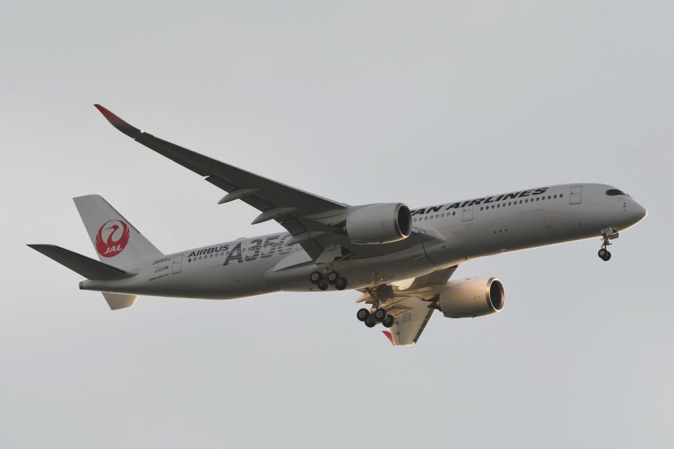 kuro2059さんの日本航空 Airbus A350-900 (JA02XJ) 航空フォト