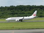 うすさんが、熊本空港で撮影した日本航空 737-846の航空フォト(写真)