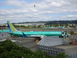 worldstarさんが、レントン市営空港で撮影したユナイテッド航空 737-9-MAXの航空フォト(飛行機 写真・画像)