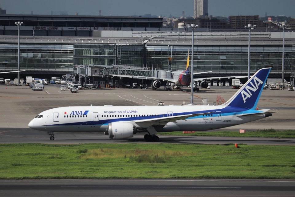 KAZFLYERさんの全日空 Boeing 787-8 Dreamliner (JA804A) 航空フォト