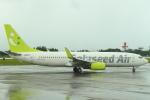 セブンさんが、鹿児島空港で撮影したソラシド エア 737-86Nの航空フォト(飛行機 写真・画像)