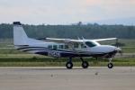 北の熊さんが、新千歳空港で撮影したテキストロン・アビエーション 208 Caravan Iの航空フォト(飛行機 写真・画像)