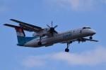 k-spotterさんが、ロンドン・シティ空港で撮影したルクスエア DHC-8-402Q Dash 8の航空フォト(写真)