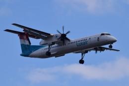 k-spotterさんが、ロンドン・シティ空港で撮影したルクスエア DHC-8-402Q Dash 8の航空フォト(飛行機 写真・画像)