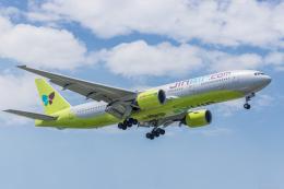 Y-Kenzoさんが、ダナン国際空港で撮影したジンエアー 777-2B5/ERの航空フォト(飛行機 写真・画像)