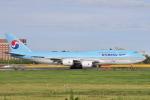Orange linerさんが、成田国際空港で撮影した大韓航空 747-8B5の航空フォト(写真)