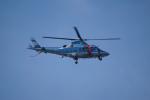 神宮寺ももさんが、泉大津フェニックスで撮影した福島県警察 A109E Powerの航空フォト(写真)