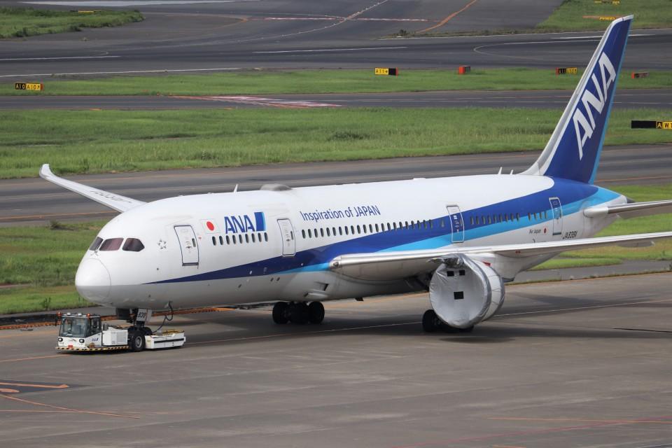 KAZFLYERさんの全日空 Boeing 787-8 Dreamliner (JA838A) 航空フォト