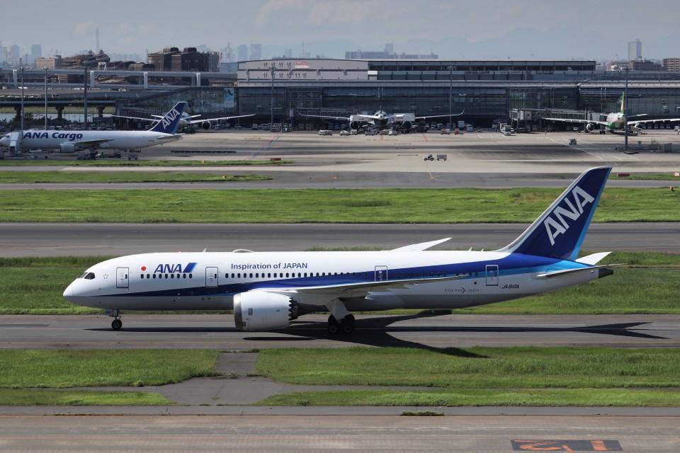 KAZFLYERさんの全日空 Boeing 787-8 Dreamliner (JA810A) 航空フォト