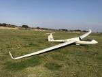 aerianeswiftさんが、板倉滑空場で撮影した日本個人所有 Discus CSの航空フォト(飛行機 写真・画像)