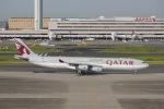 flying_horseさんが、羽田空港で撮影したカタールアミリフライト A340-313Xの航空フォト(写真)
