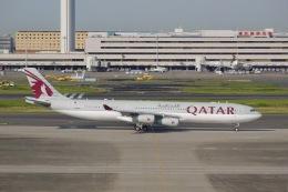 flying_horseさんが、羽田空港で撮影したカタールアミリフライト A340-313Xの航空フォト(飛行機 写真・画像)