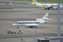 SKY☆101さんが、羽田空港で撮影したジブチ共和国政府 Falcon 7Xの航空フォト(飛行機 写真・画像)