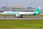 Kuuさんが、高松空港で撮影したエアソウル A321-231の航空フォト(飛行機 写真・画像)