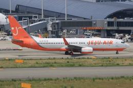 キイロイトリさんが、関西国際空港で撮影したチェジュ航空 737-82Rの航空フォト(飛行機 写真・画像)