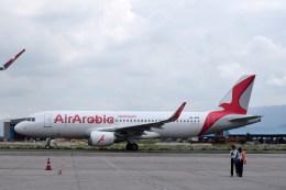 よんすけさんが、トリブバン国際空港で撮影したエア・アラビア A320-214の航空フォト(飛行機 写真・画像)