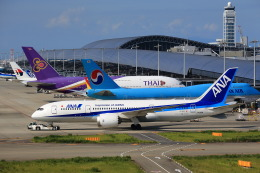 T.Sazenさんが、関西国際空港で撮影した全日空 787-8 Dreamlinerの航空フォト(写真)