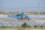 神宮寺ももさんが、泉大津フェニックスで撮影した鹿児島県警察 AW139の航空フォト(写真)