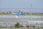 神宮寺ももさんが、泉大津フェニックスで撮影した鳥取県警察 AW109SPの航空フォト(写真)